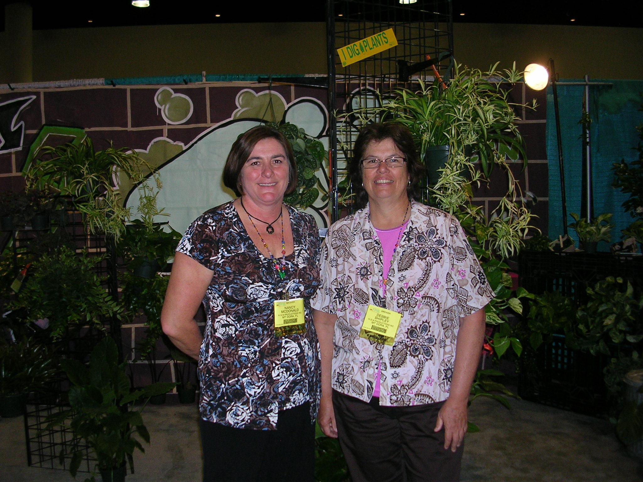 Nancy McDonald and Debbie Shipley