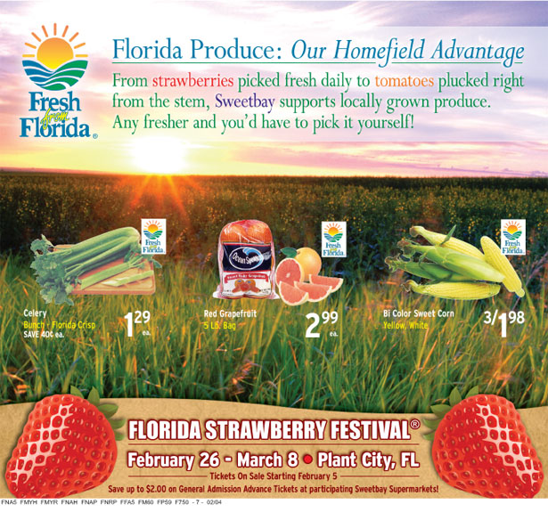 Sweetbay promotes Fresh from Florida