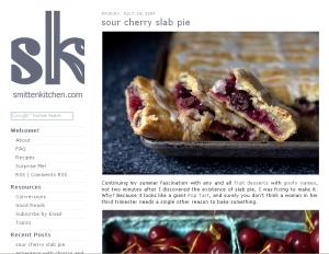 Smitten Kitchen Blog