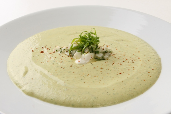 Fall - Cucumber and Avocado Soup