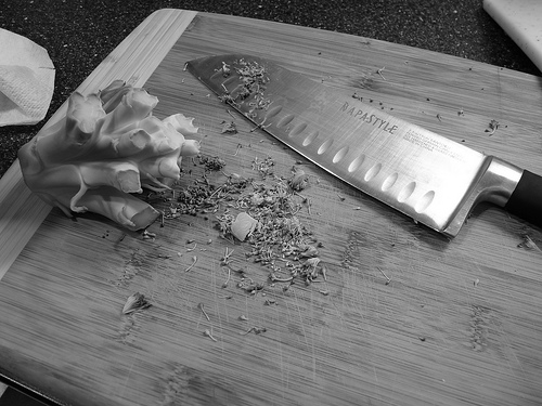 knife cutting board