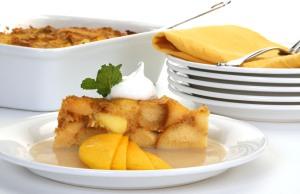 Mucho Mango Bread Pudding