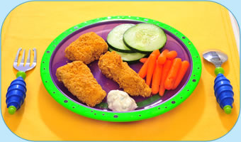 Crunchy Baked Fish Fingers