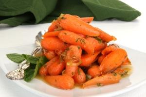 Fall - Florida Wildflower Honey Glazed Carrots 3
