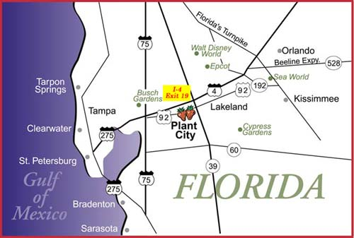 Plant City Zip Code Map.Florida Strawberry Festival Going Strong Fresh From Florida Blog